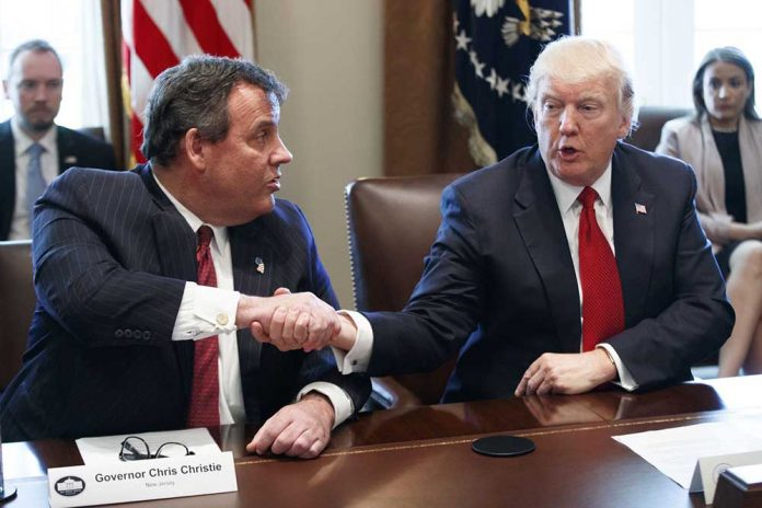 Chris Christie Drops Out of Consideration for White House Chief of Staff
